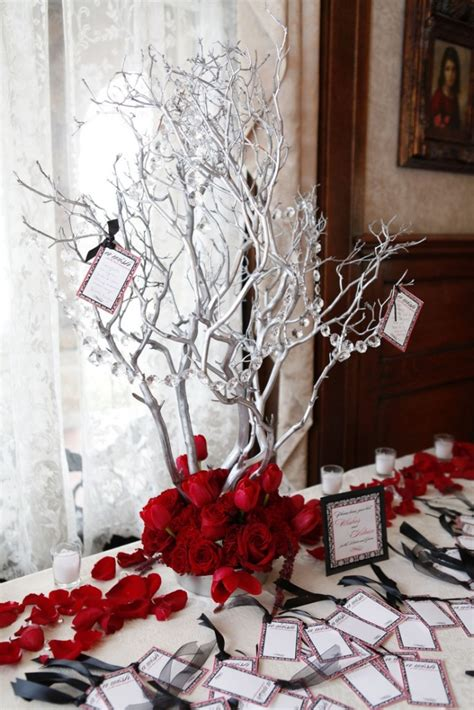 winter wedding tree centerpieces top 40 wedding centerpiece ideas