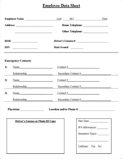 11 best images about employee forms on your my