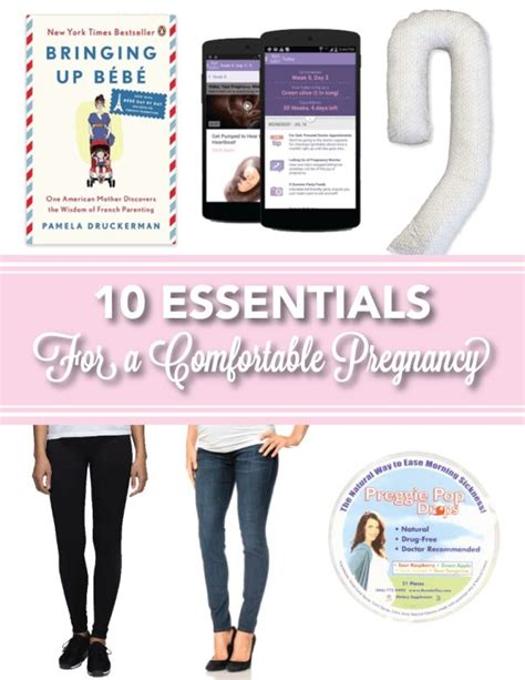 how to make more comfortable during pregnancy these top ten items are sure to make pregnancy a more
