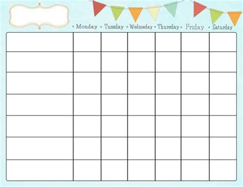 printable reward charts for 8 year olds beautiful mess free printable chore chart daycare