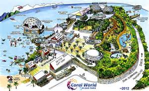 World Park Map Of Coral World Park 2012
