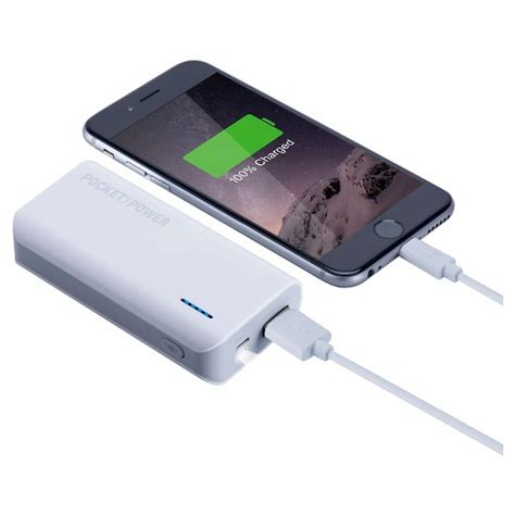 charger for power bank power bank charger white the sharper image target