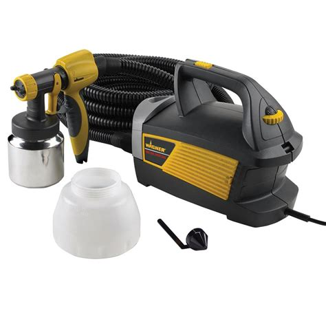 home depot wagner airless paint sprayer wagner spray max hvlp sprayer 0518080 the home depot