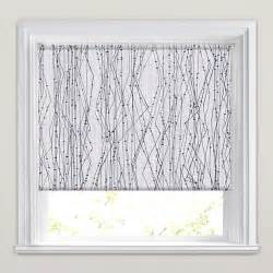 Small Roman Blinds For Bathroom Modern Black White Amp Grey Electric Patterned Blackout