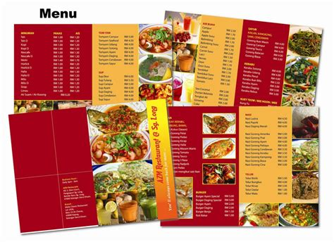 Restaurant Menu Card Design Templates Free by Menu Design Inspiration Designs For Restaurants Bank Gift