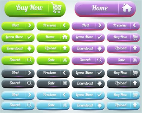 web layout button vector web design button from iconmaterial com