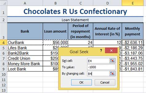 goal seek tutorial excel 2010 free excel tutorial what if analysis excel 2010 training