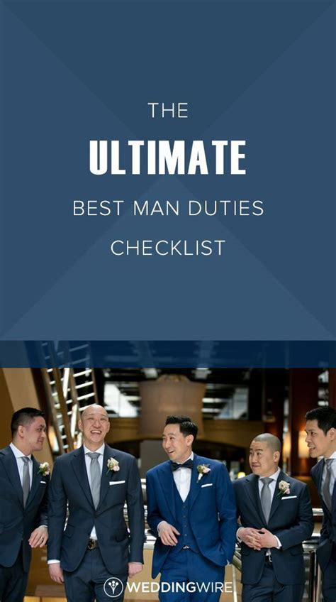 25  best ideas about Best man duties on Pinterest