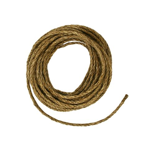 shop blue hawk 3 8 in x 50 ft twisted manila rope at lowes
