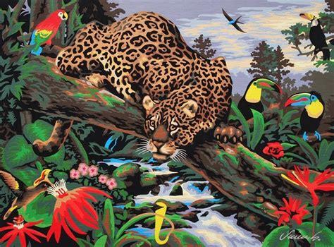 Reeves 6x22ml Poster Colour Set Cat Poster Set vintage paint by number leopard print vintage stuff