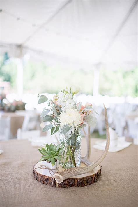 Best 25  Log centerpieces ideas on Pinterest   Fall