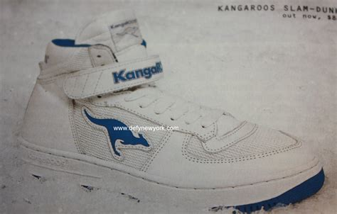 kangaroo basketball shoes kangaroos slam dunk basketball shoe 2003 defy new york