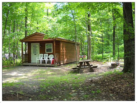 Cabins To Rent In Pennsylvania by Deluxe Cabins Tanglewood Cing