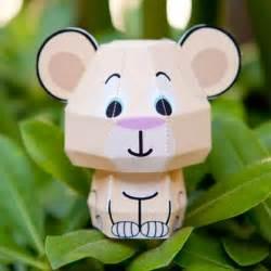 Disney 3d Papercraft - nala cutie papercraft disney family