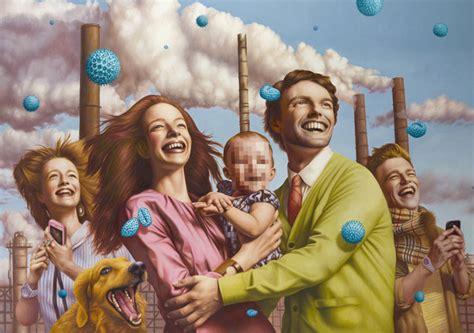 Famous American Architecture pop surrealism by alex gross the photophore
