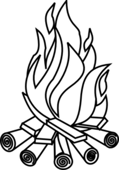 wow  gambar api unggun kartun hitam putih gambar kartun