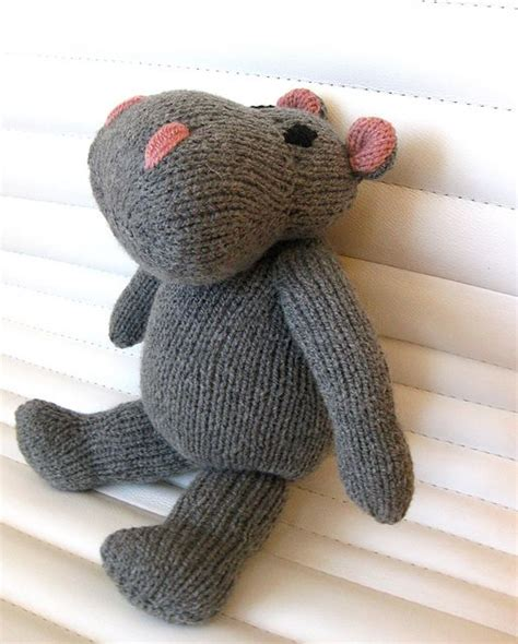 ravelry knitted toys hippo knitting pattern pattern by eteri