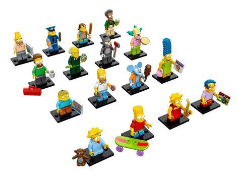 Bart Simpsons Lego Minifigures Series 1 71005 lego simpsons minifigures series photos fully revealed