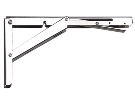folding table leaf brackets brackets eb 303 ep stainless steel folding shelf bracket
