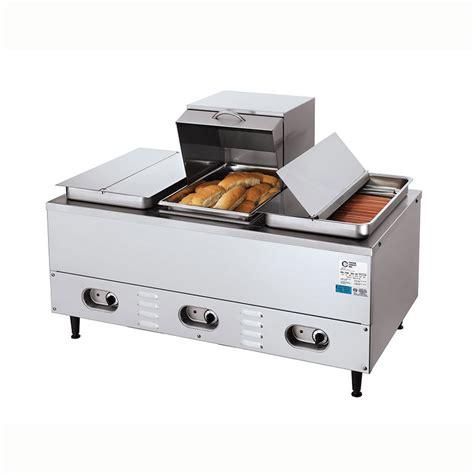 commercial bread warmer crown verity cv 3whs dog steamer w bun warmer