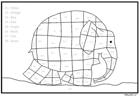 Elmer Elephant Coloring Page Coloring Home Elmer Colouring Pages