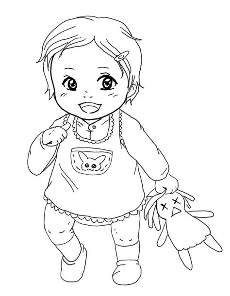 reborn baby coloring page how to draw a baby girl step by step pencil art drawing
