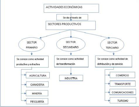 cadenas productivas sexto grado actividades economicas caminito de la