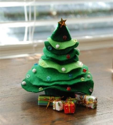 top 10 easy diy modern mini christmas trees to spruce up