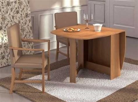 Folding Dining Room Table Space Saver Interior Design | 30 space saving folding table design ideas for functional