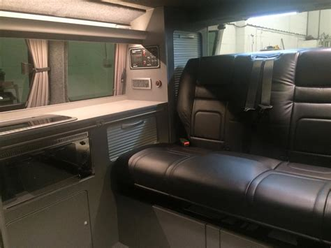 Lighting Over Kitchen Sink t5 swb camper conversion ajc conversions ltd