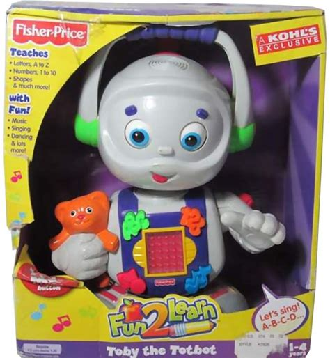 fisher price robot toby the totbot by fisher price the robots web site