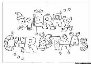 merry christmas print coloring pages printable coloring pages kids