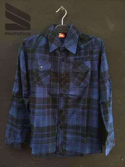 Baju Kemeja Cowok Pria Murah Polo Pendek Distro Model Trendy Terbaru kemeja distro hem grosir murah pria baju pakaian 03