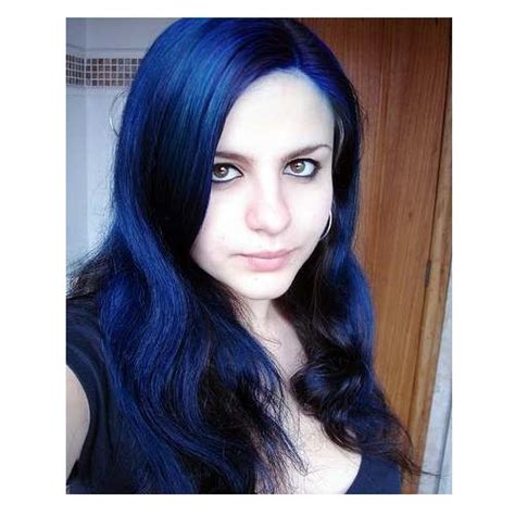 black midnight blue hair vopsea manic panic after midnight