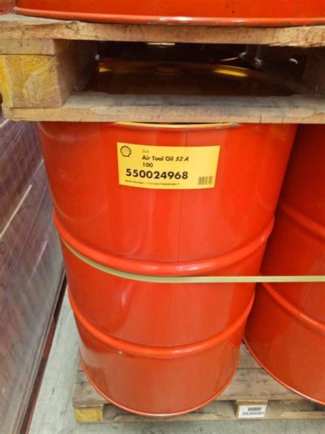 shell air tool oil       drum sejahtera oil