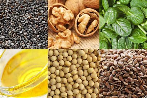 alimenti vegetali alimenti vegetali ricchi di acidi grassi omega 3
