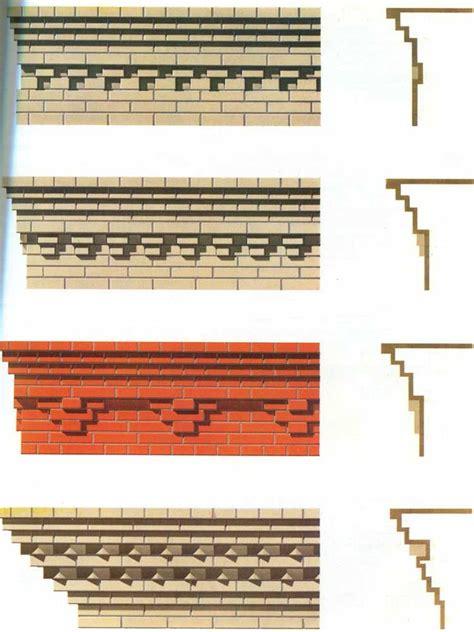 brick cornice 17 best ideas about cornices on window