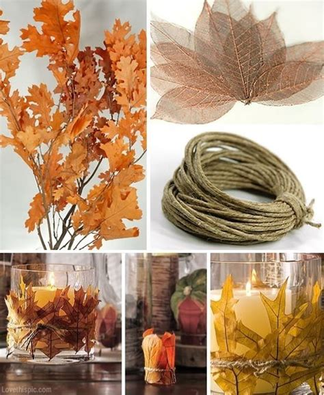 Easy Crafts To Decorate Your Home by Autumn Decorating Pictures Photos And Images For