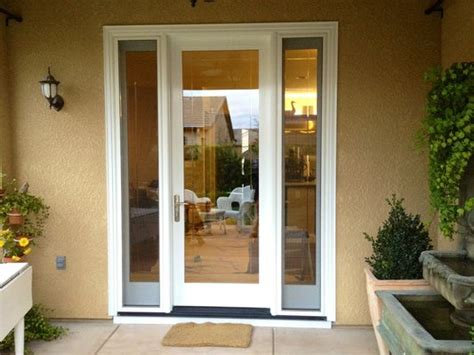 Exceptional Patio French Doors With Sidelights 8 Single Patio Doors With Sidelights