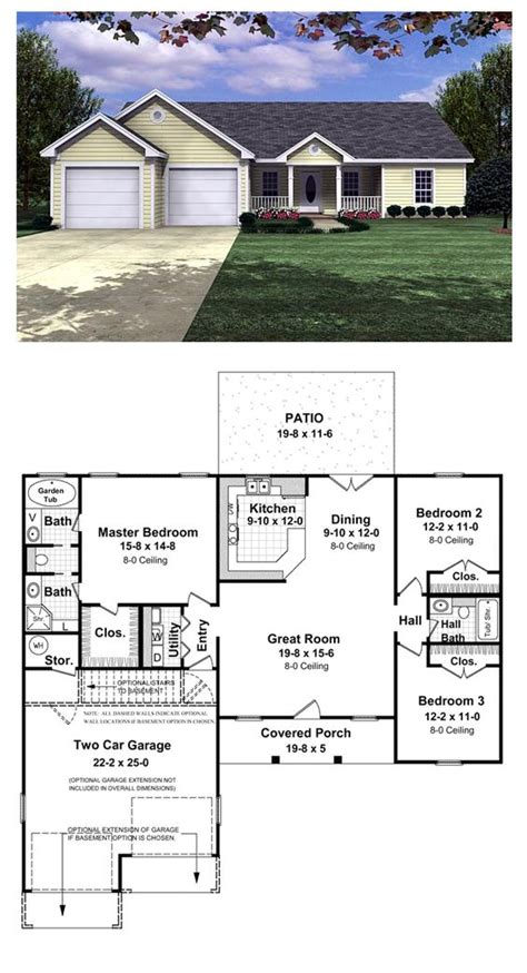 house plans for patio homes patio ideas patio home plans with front garage courtyard