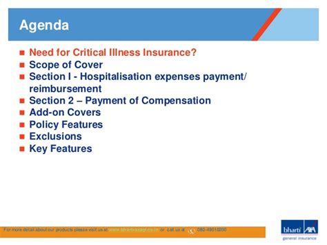 insurance policy sections critical illness insurance policy