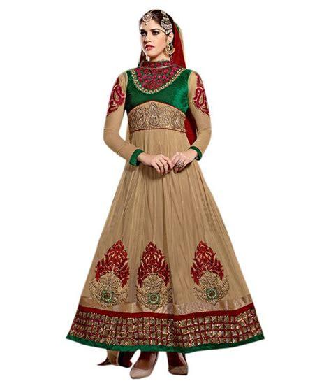 Alia Brown aabha n alia brown net unstitched dress material buy