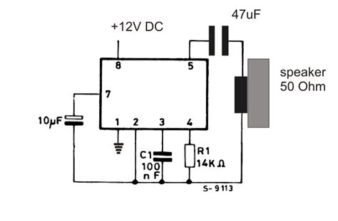 transistor ringtones 2 tone ringtone generator circuit
