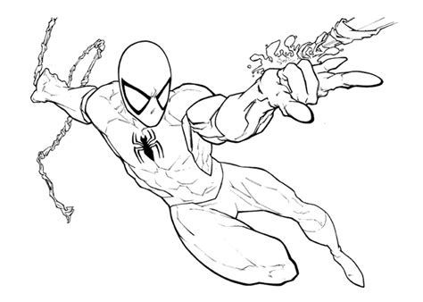 spider man 2099 coloring pages sketch coloring page