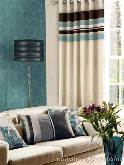 curtains duck egg blue and brown pin by shelley abernathy on home reno pinterest
