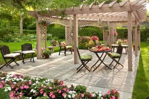 Ideas For Backyard Patio Best Garden Furniture And Landscaping Ideas