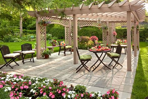Backyard Ideas by Best Garden Furniture And Landscaping Ideas