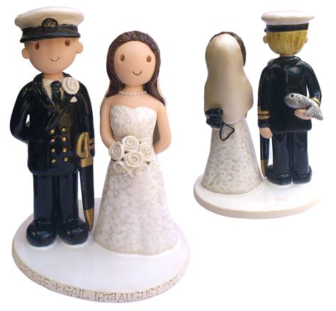cake toppers navy wedding cake toppers gallery exles of toppers we