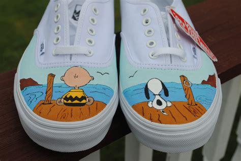 vans design names new design custom hand painted mens vans shoe charlie brown