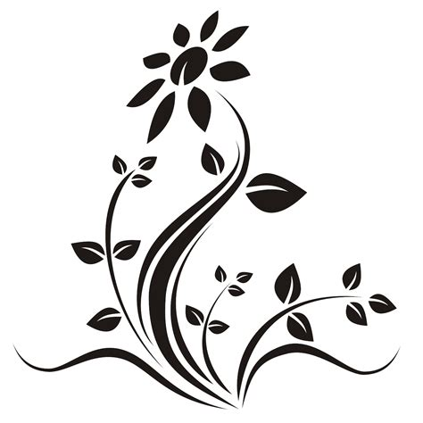 tattoo ideas vector vector for free use flower vector